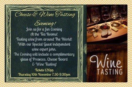 Wine Tasting Middleton Manchester